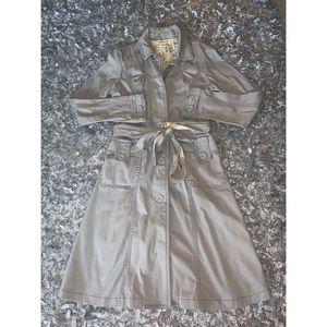 Grey Trench Coat 🧥